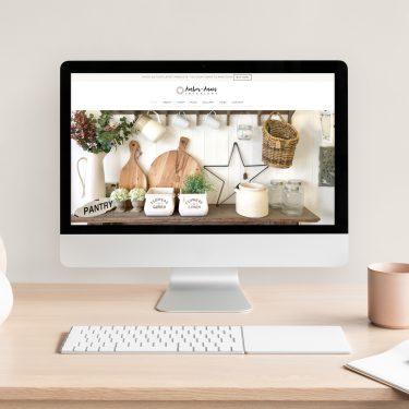 Amber-Anais Interiors | Website Design