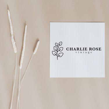 Charlie Rose Vintage | Brand Design
