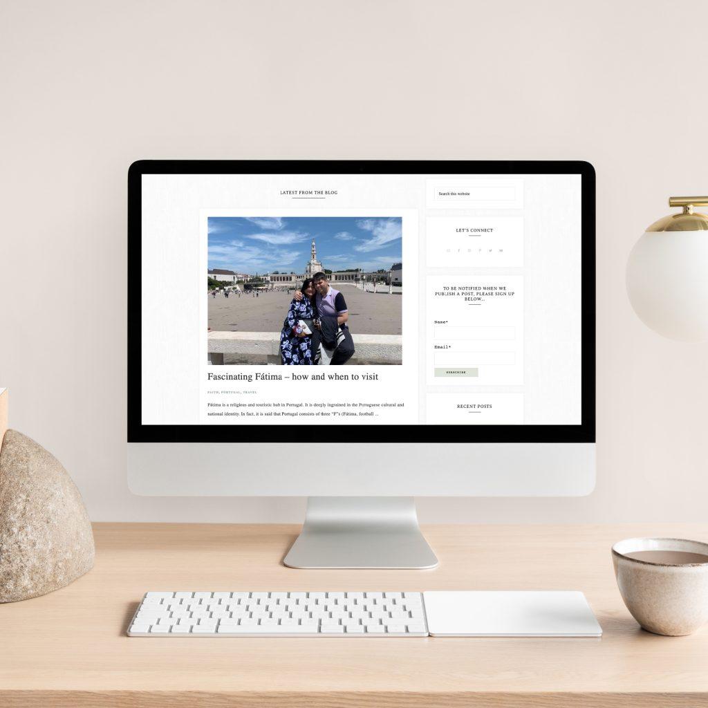 Hello White Space   brand and website design   blog website build
