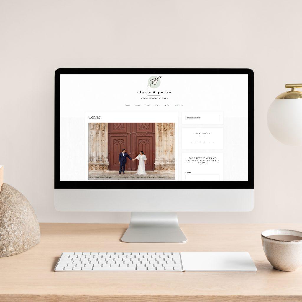 Hello White Space   brand and website design