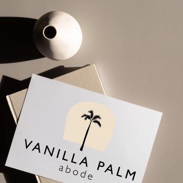 Vanilla Palm Abode | Brand Design